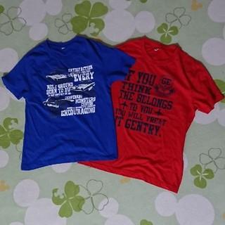 シマムラ(しまむら)の男児 Tシャツ 160cm  2枚セット(Tシャツ/カットソー)