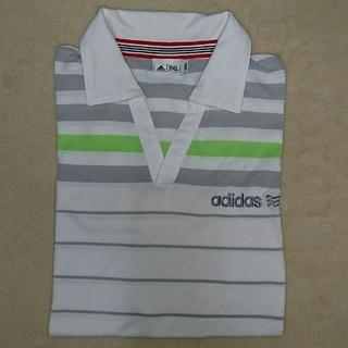 アディダス(adidas)の★adidasポロシャツ〈M〉(ウエア)