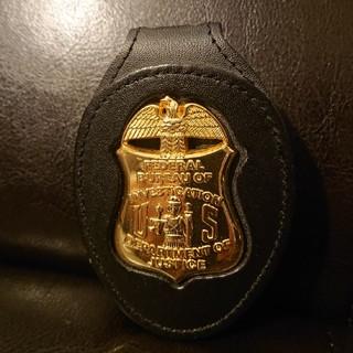 FBIポリスバッジ レプリカ