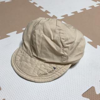 c997fc03febd2 コンビミニ(Combi mini)のコンビミニ ベビー 帽子 46センチ ライトベージュ(帽子)