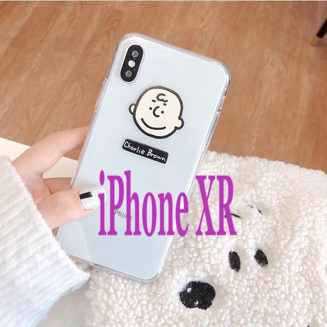 SNOOPY - iPhone XR  チャーリーブラウンの通販 by りあん♡'s shop|スヌーピーならラクマ