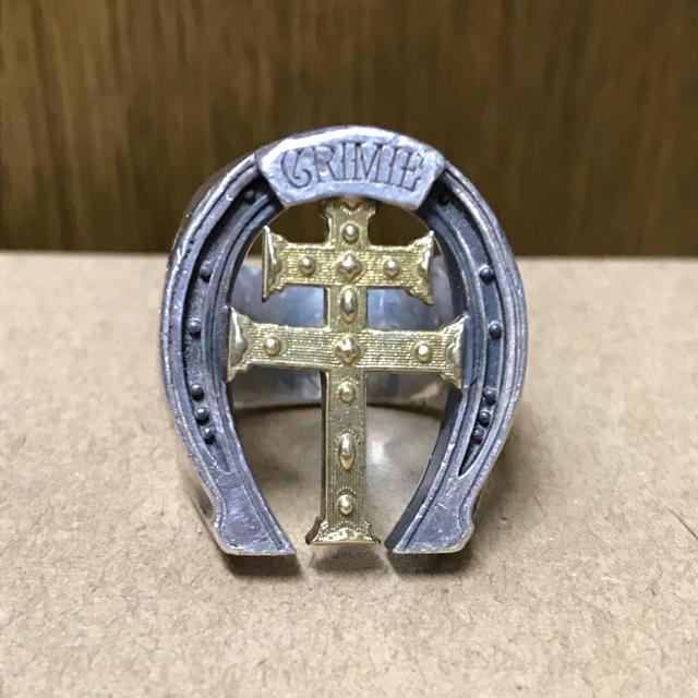 CRIMIE(クライミー)のクライミー  ホースシューリング メンズのアクセサリー(リング(指輪))の商品写真