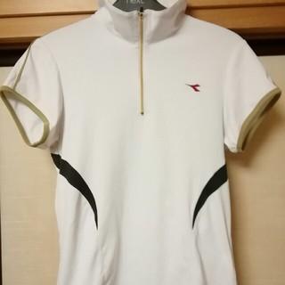 ディアドラ(DIADORA)のディアドラ テニス ゲームシャツ レディース Lサイズ(ウェア)