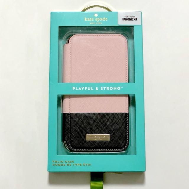 kate spade new york - ケイトスペード iPhone XR フォリオカラーブロック   ローズクォーツの通販 by Sebastian|ケイトスペードニューヨークならラクマ