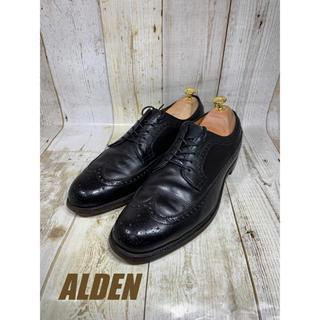 オールデン(Alden)の旧ALDEN オールデン フルブローグ 679 US10 27.5-28cm(ドレス/ビジネス)