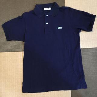 ラコステ(LACOSTE)のラコステ・メンズポロシャツ・ロゴ・サイズ2・ネイビー(ポロシャツ)
