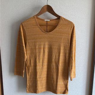ジーユー(GU)のGU 七分袖カットソー(Tシャツ/カットソー(七分/長袖))