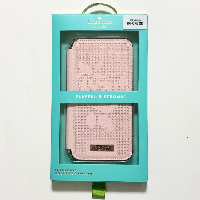 kate spade new york - ケイトスペード iPhone XR フォリオ パフォーレイテッドローズクォーツの通販 by Sebastian|ケイトスペードニューヨークならラクマ