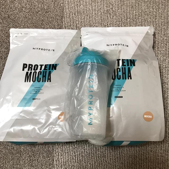 MYPROTEIN(マイプロテイン)のマイプロテイン☆モカ1kg×2 食品/飲料/酒の健康食品(プロテイン)の商品写真