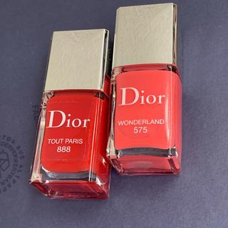 クリスチャンディオール(Christian Dior)のDior ヴェルニ ネイル 888と575(マニキュア)
