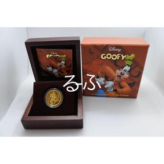 ディズニー(Disney)の2014年 ニウエ Niue ディズニー  グーフィー 金貨1/4オンス(貨幣)