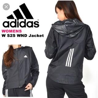 アディダス(adidas)の新品タグ付き adidas アディダス ナイロンジャケット ブラック XL(ナイロンジャケット)
