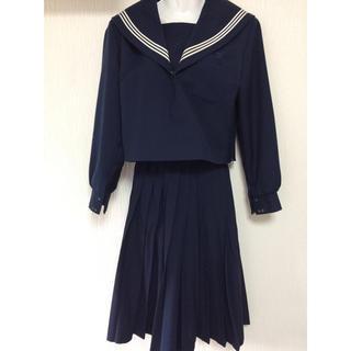 冬 紺色 白3本線 セーラー服 OZEKI(衣装一式)