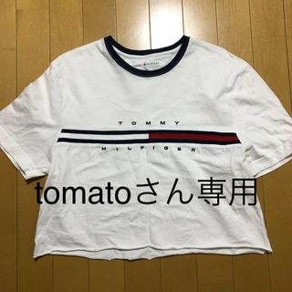 トミー(TOMMY)のTOMMY 切りっぱなしTシャツ(Tシャツ(半袖/袖なし))