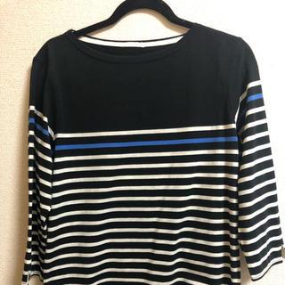 ジーユー(GU)のGUボーダーカットソー(Tシャツ/カットソー(七分/長袖))