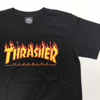 THRASHER - 【M】 THRASHER [スラッシャー] フレイムロゴT【SALE】