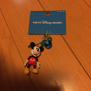 ディズニー(Disney)のディズニーミッキーマウスストラップ(ストラップ)