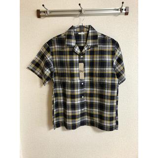 ジーユー(GU)のオープンカラーシャツ リネン(シャツ)