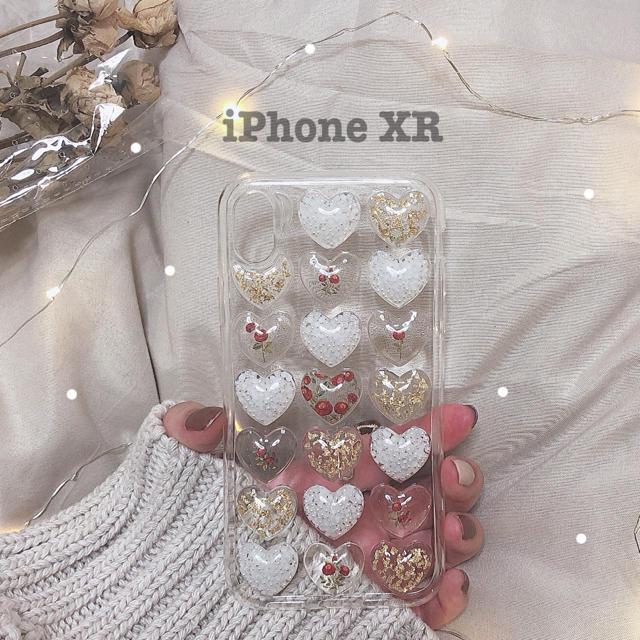 〈ハンドメイド〉 ハートiPhoneケース XRの通販 by ~ importshop plumii ~|ラクマ