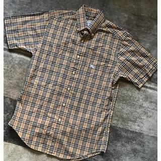 バーバリー(BURBERRY)の90'svintage Burberrys バーバリー ノバチェック 半袖シャツ(シャツ)