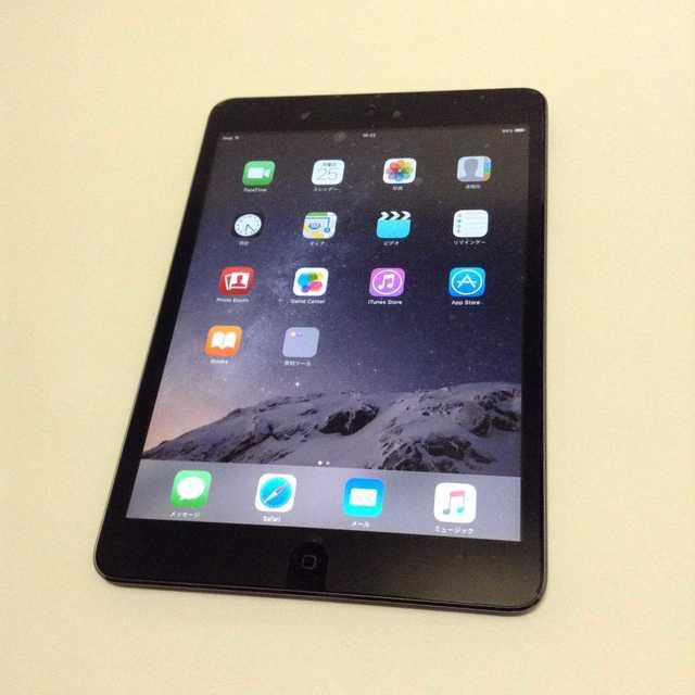 Apple(アップル)の交渉歓迎 iPad mini 黒 動作保証 アップル スマホ/家電/カメラのPC/タブレット(タブレット)の商品写真