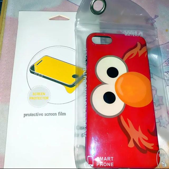 【本日午前まで】iPhone 7 8 スマホカバー エルモ スマホ/家電/カメラのスマホアクセサリー(iPhoneケース)の商品写真