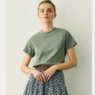 ジーユー(GU)のGU 新品未使用 スムースTシャツ(Tシャツ(半袖/袖なし))
