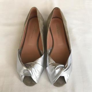 ファビオルスコーニ(FABIO RUSCONI)の♡ファビオルスコーニ♡ フラットシューズ 靴 パンプス サンダル オープントゥ(ハイヒール/パンプス)