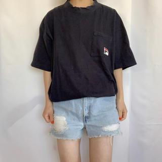 フィラ(FILA)のFILA 90s ポケットロゴ刺繍TEE(Tシャツ/カットソー(半袖/袖なし))