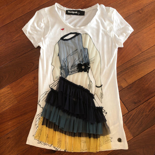デシグアル(DESIGUAL)のデシグアル デザインTシャツ(Tシャツ(半袖/袖なし))