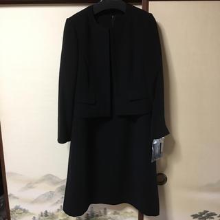 セシール(cecile)の大きいサイズ ブラックフォーマル 15ABR(礼服/喪服)