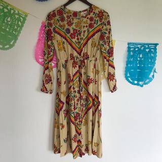 チチカカ(titicaca)のチチカカ ワンピース 花柄(ロングワンピース/マキシワンピース)