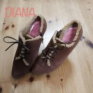 ダイアナ(DIANA)の【23.5】ダイアナ ショートブーツ(ブーツ)