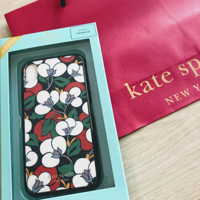 【Kate  spade】iPhone XRケース  花柄の通販 by safa's shop|ラクマ