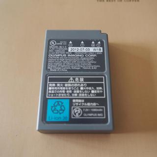 オリンパス(OLYMPUS)のデジカメバッテリー BLS-5 オリンパス PEN リチウム電池(バッテリー/充電器)