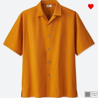 ユニクロ(UNIQLO)のXL オープンカラーシャツ イエロー ユニクロユー ユニクロ ルメール(シャツ)