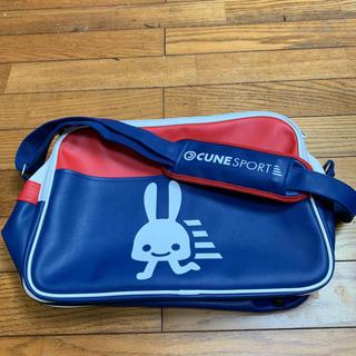 キューン(CUNE)のCUNE スポーツのバッグ 大 極美品💕(メッセンジャーバッグ)