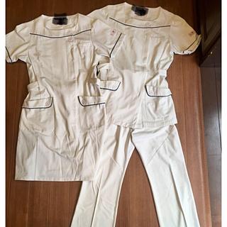 ワコール(Wacoal)のワコール ナース服 ワンピース パンツ 2セット  L(その他)
