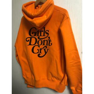 シュプリーム(Supreme)の【専用】GirlsDon'tCry×Readymadeオレンジパーカー(パーカー)