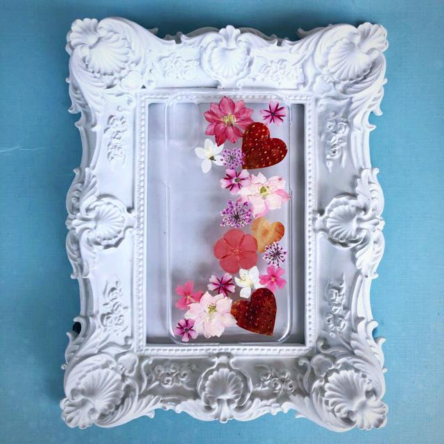 シンプル アイフォンケース | 押し花 iPhonex/xs/XR ケース カバー ハンドメイドの通販 by ☆ar☆s shop  |ラクマ