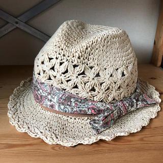 イング(INGNI)のINGNI 麦わら帽子 帽子(麦わら帽子/ストローハット)