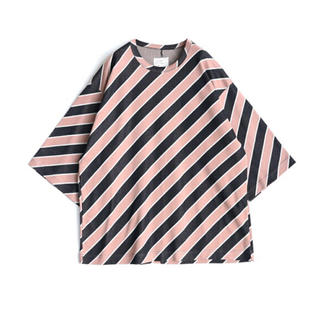 SHAREEF - SHAREEF BIAS STRIPE BIG-T