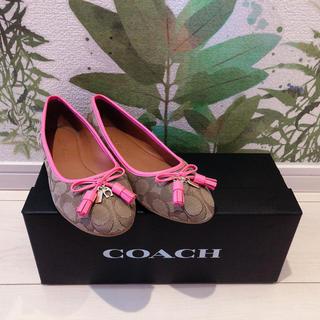 コーチ(COACH)のCOACH 靴(バレエシューズ)