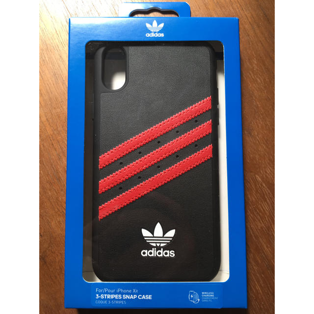adidas - 最終値下 正規新品adidas iPhoneXRケースブラック×レッドアディダスの通販 by shop|アディダスならラクマ