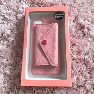 ハニーミーハニー(Honey mi Honey)のHONEY MI HONEY iPhoneケース 6/6s/7/8 pink(iPhoneケース)
