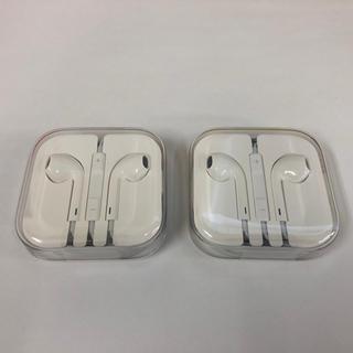 アイフォーン(iPhone)の純正 iPhone イヤホン 新品(ヘッドフォン/イヤフォン)