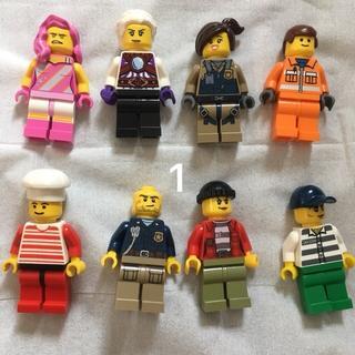 レゴ(Lego)の1 レゴ ミニフィグセット 8体 ミニフィギュア  レゴブロック  (キャラクターグッズ)