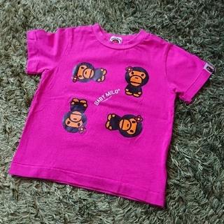 アベイシングエイプ(A BATHING APE)のBAPE KIDS 100 A BATHING APE Tシャツ(Tシャツ/カットソー)