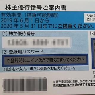 ジャル(ニホンコウクウ)(JAL(日本航空))のJAL ANA 株主優待券(航空券)