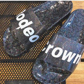 ロデオクラウンズワイドボウル(RODEO CROWNS WIDE BOWL)のロデオクラウンズ ノベルティ (サンダル)